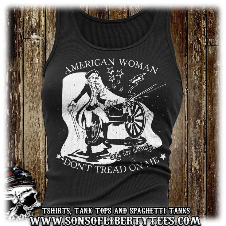 American Woman: Don't Tread on Me : T-Shirt  #2A #Femalesforfirearms #Patrioticwomen #Sisterpatriots #Sonsoflibertytees #Womenwhoshoot