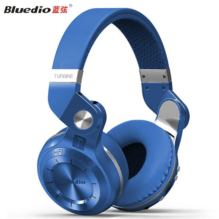 Bludio Hands Free Stereo Bluetooth Headset Wireless Earphone Headphones with Microphone Casque Audio Bluetooth Wireless Headset
