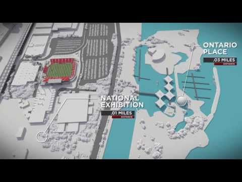 New BMO Field Fly Through - YouTube