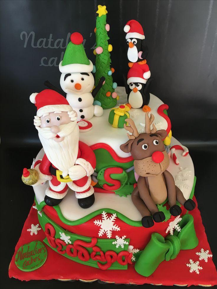 XMAS BIRTHDAY CAKE!