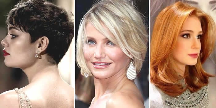 Tendência corte e cor para o cabelo feminino primavera verão 2015 -Portal Tudo Aqui