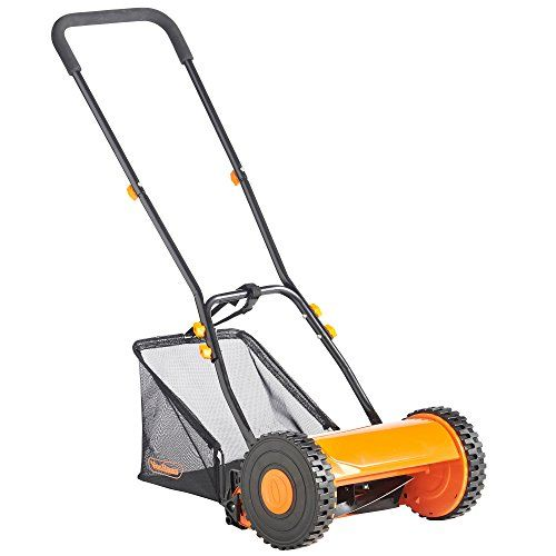 VonHaus 30cm Manual Cylinder Garden Lawn Mower with FREE Extended 2 Year Warranty