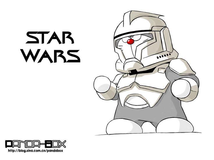Dora+Star Wars