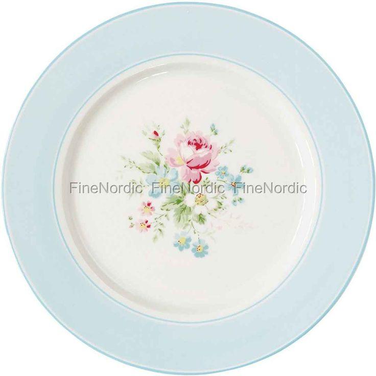 GreenGateDinner Plate - Marie White 25 cm