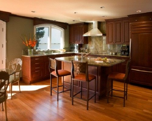 kitchen island table combination kitchen pinterest