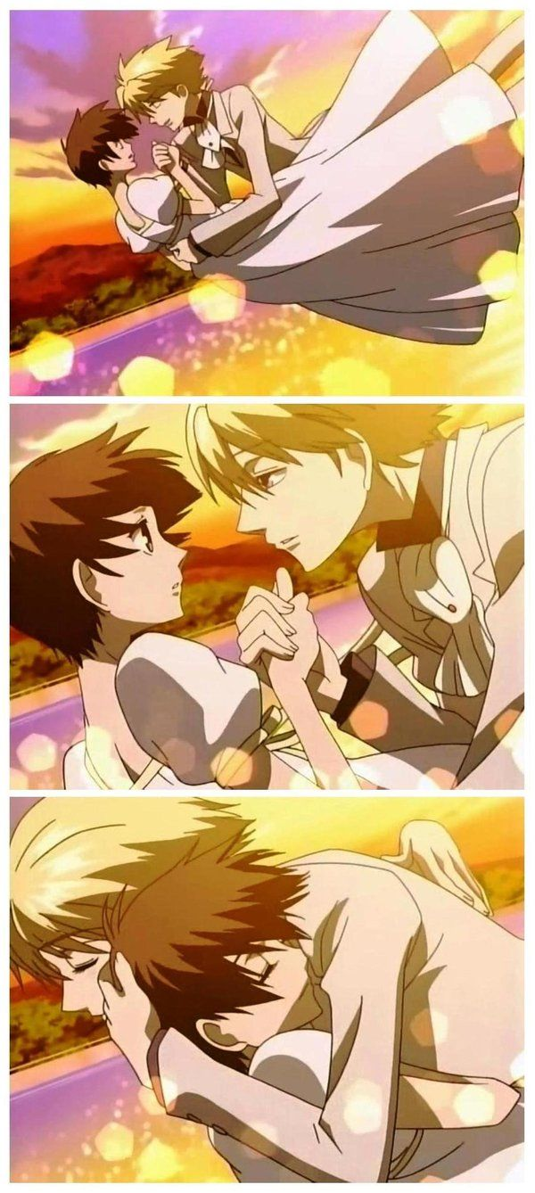 That was a sweet ending.  :)  .....I STILL VOTE FOR HIKARU!!  But this was nice.  It brought him back to Ouran.