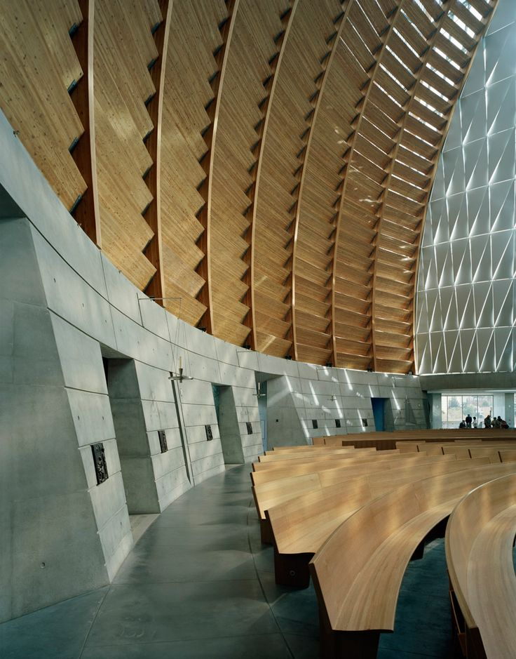The Cathedral Of Christ Light SOM Modern Interior DesignModern InteriorsModern ChurchChurch