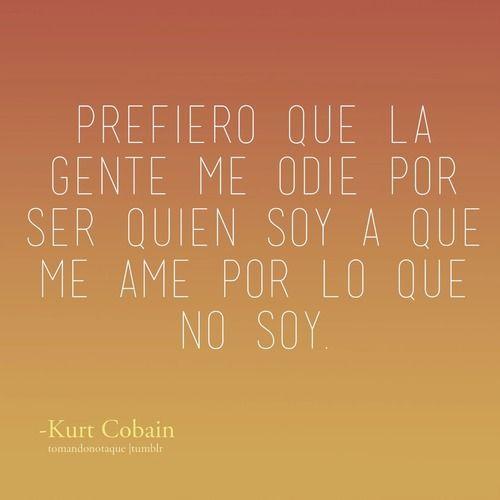 Frases • Frases de -Kurt Cobain