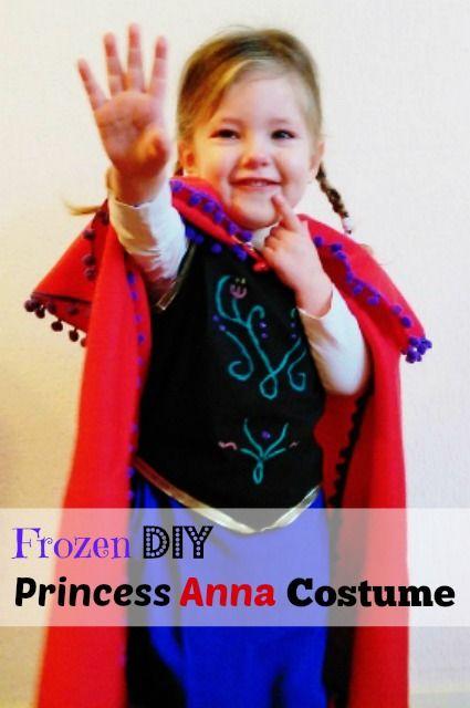 Frozen DIY crafts: Zelf prinses Anna kostuum outfit maken voor Carnaval en Halloween - Mamaliefde.nl