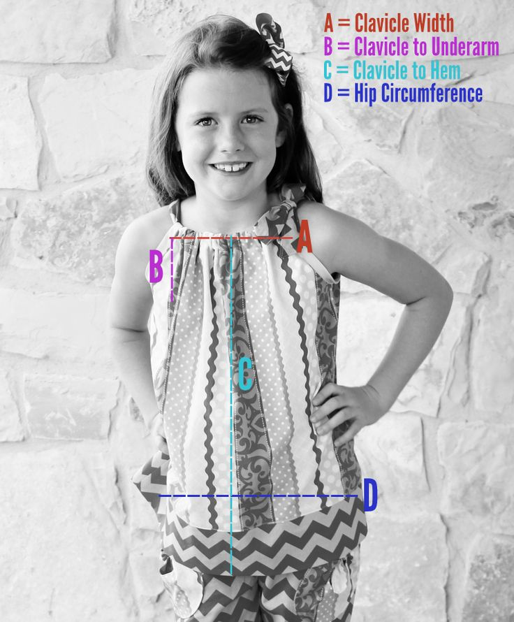 Free tutorial for how to draft patterns for and sew pillowcase dresses and tops. So