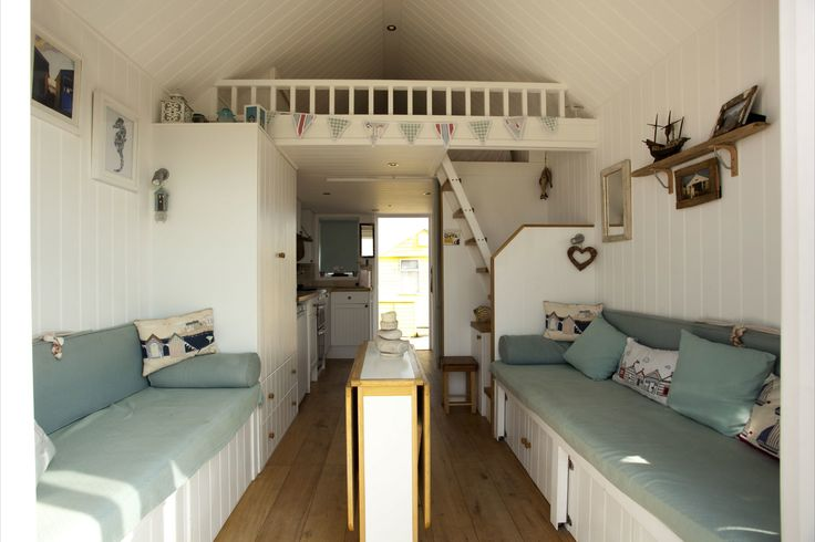 62 best images about british seaside beach huts on for Beach hut style interiors