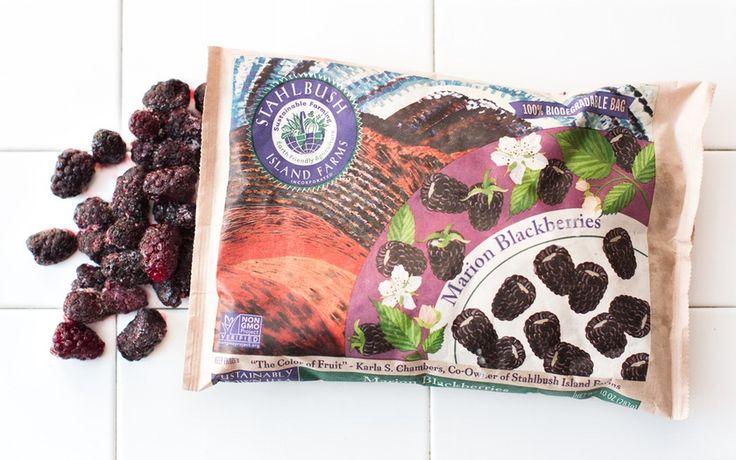 Stahlbush Island Farms Frozen Marion Blackberries