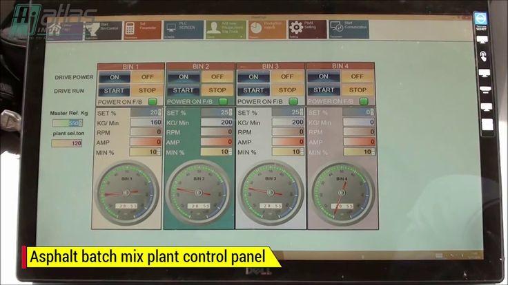 Video asphalt batching plant control panel: https://www.youtube.com/watch?v=n-UkeXy4qlY #AsphaltMixer #AsphaltMixPlant #AsphaltBatchMixPlant #AsphaltBatchingPlants