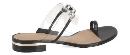 #Kazar Czarne sandały