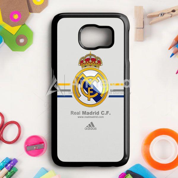 Real Madrid Club De Fútbol La Liga Spanyol Logo Samsung Galaxy S6 Edge Plus Case | armeyla.com