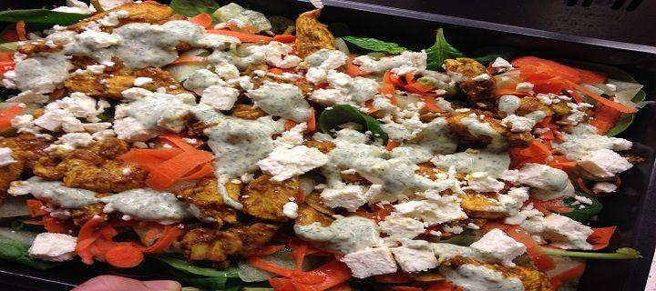 Kip tikka salade - Koken voor mijn peuter