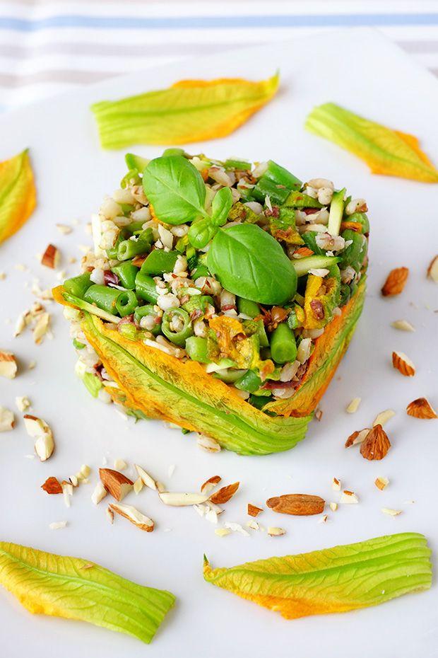 Tortini di orzo e verdure primaverili - GranoSalis - Blog di cucina naturale e consapevole