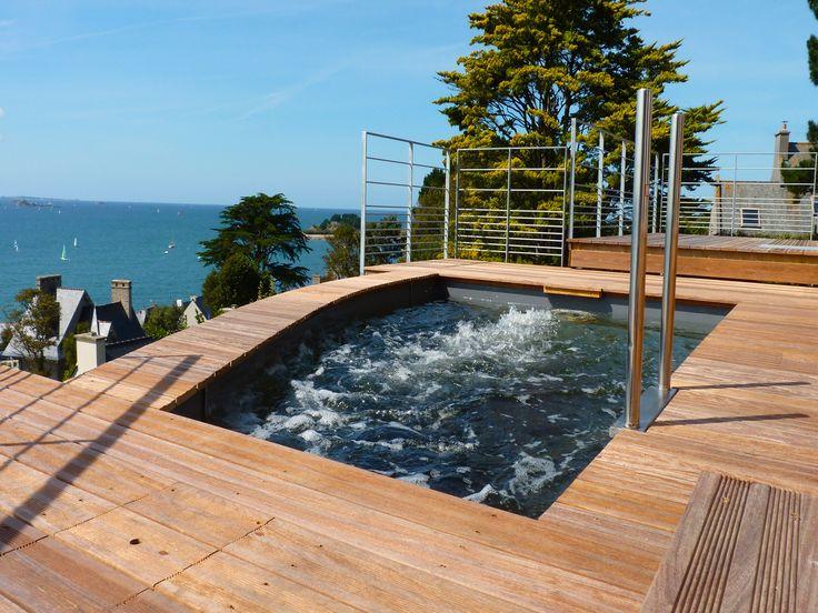 17 meilleures images propos de piscines citadines sur for Piscine miroir fond mobile