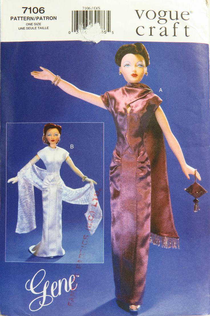 59 best Barbie Patterns - Vogue images on Pinterest   Schnittmuster ...