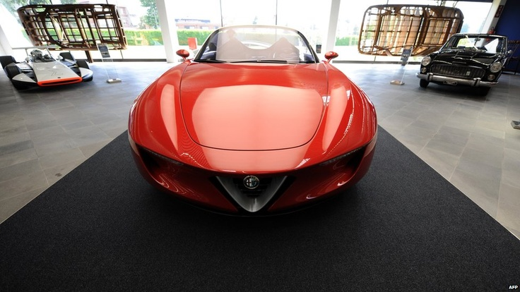 Alfa Romeo is displayed in the Pininfarina MuseumPininfarina Museums, Cars Design, Design Automobiles, De Ferrari, Sergio Pininfarina, Des Ferrari, Automobiles Sergio, Ferrari Sergio, You Design