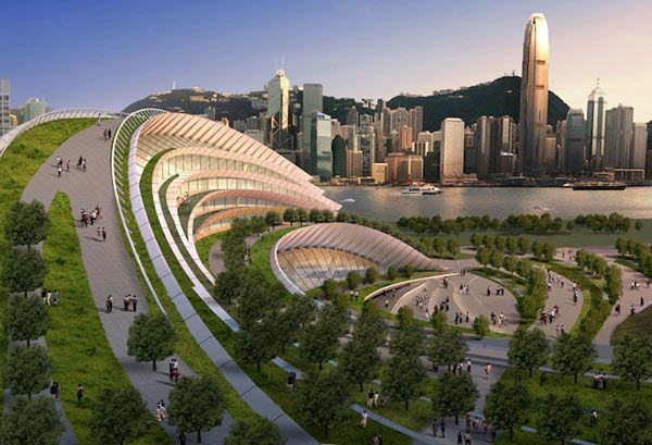Meant to connect Hong Kong to Beijing, the Express Rail Link West Kowloon Terminus.