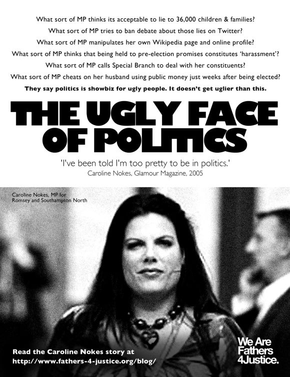 Caroline Nokes MP Advert, 2013
