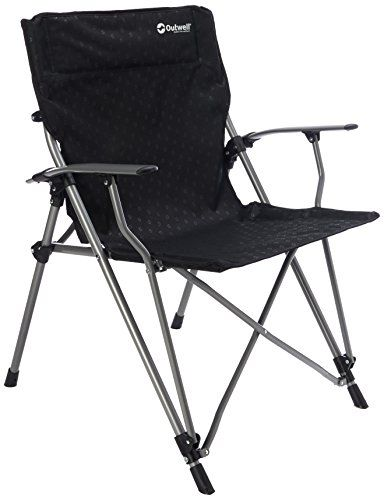 Outwell Unisex S Goya Chair Black One Size Hiking Gear Hiking