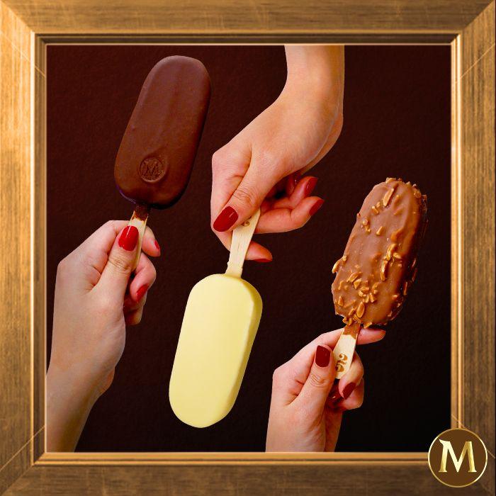 Η σοκολάτα του Magic είναι τόσο υπέροχη που θες να την κορνιζάρεις!