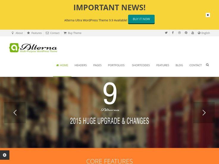 Alterna - WordPress