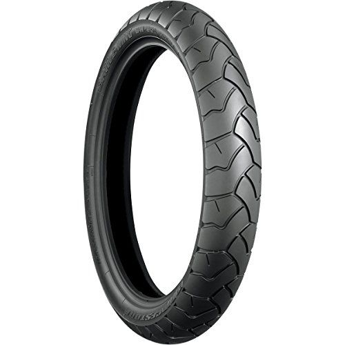 Bridgestone Battle Wing BW501E Tire - Front - 110/80R19 , Position: Front, Tire Size: 110/80-19, Rim Size: 19, Speed Rating: V, Tire Type: Dual Sport, Tire Construction: Radial, Tire Ply: 4, Tire Application: All-Terrain 004404 #carscampus