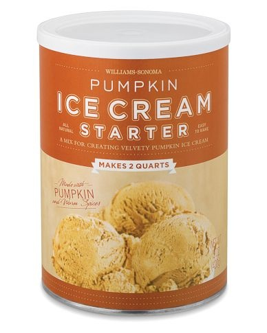 Week 4: Pumpkin Ice Cream (williams sonoma mix)  Rating: 7 out of 10  I got a little lazy this week and this was all I could manage. It's pretty good, but I think the already made Publix or Edy's versions are better.