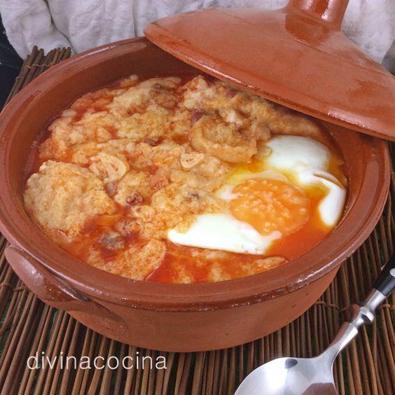 Sopa de ajo 'en colorao' < Divina Cocina: