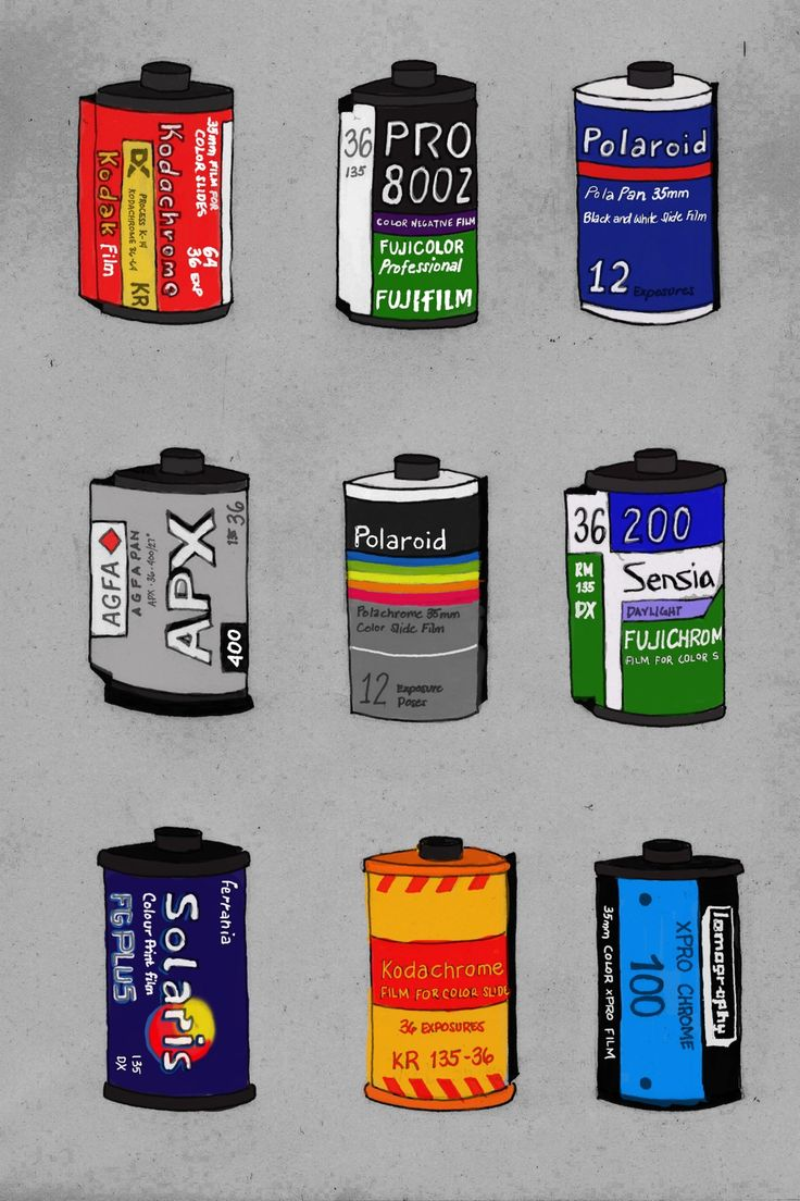 great art print - Analog is Not Dead from Yzabelle Wurthrich