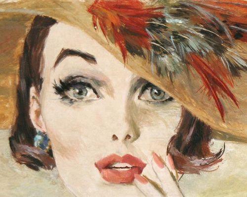 Female Illustrators of the Mid-20th Century: Barbara Bradley (1927 - 2008)