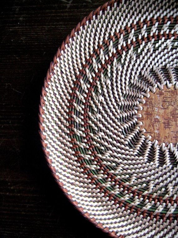 Coffee table decor Large hand woven wicker от Viyaswickerworks