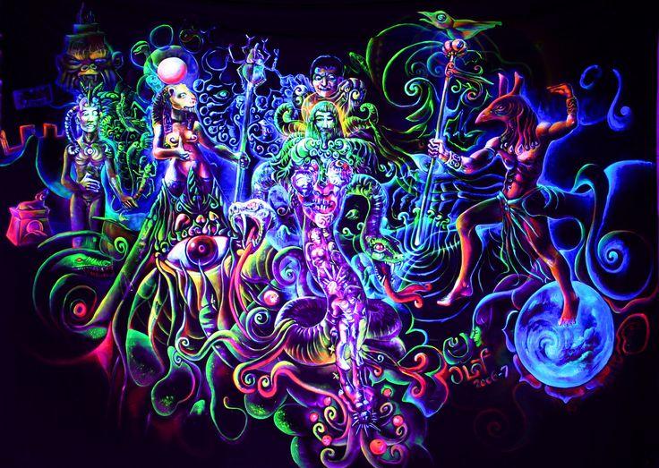 Trippy Rasta Art Background Wallpaper - http://wallawy.com ...