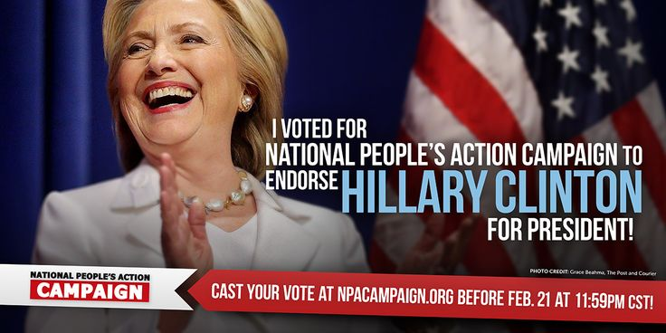 Thank You for Voting in our Presidential Poll | National People's Action Campaign