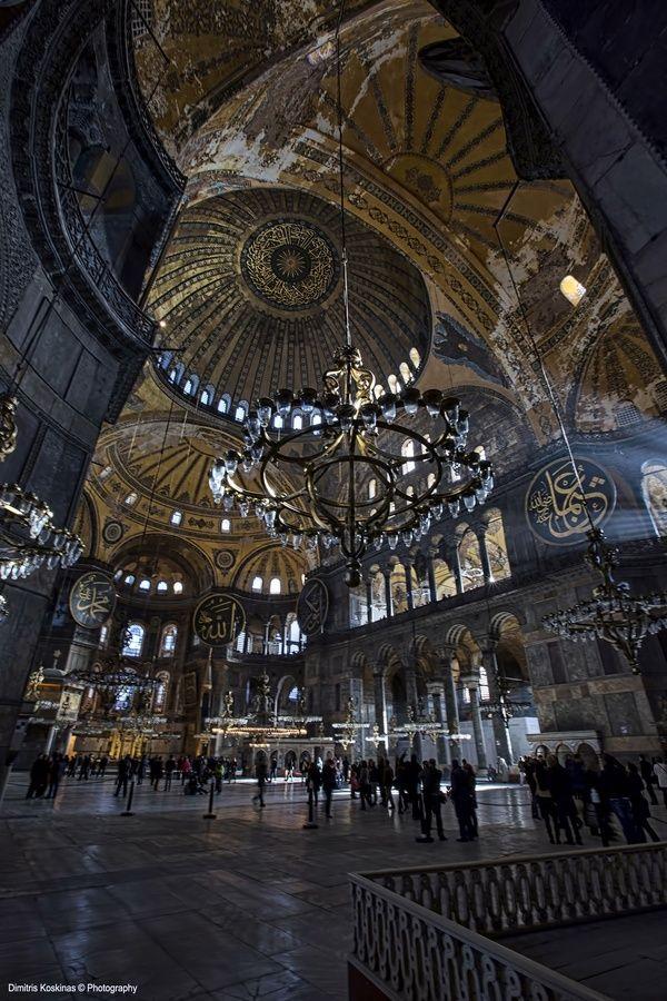Hagia Sophia Museum lovely art