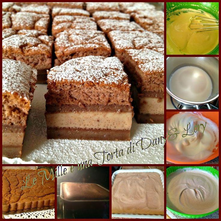 Condividi la ricetta...Condividi la ricetta...Ripropongo la torta Magica versione dark con un cuore morbido cacao e nutella… addirittura 4 strati stavolta…..oltre la Magia da leccarsi i baffi!!!! INGREDIENTI: 95 g farina 00, 20 g cacao amaro, 65…
