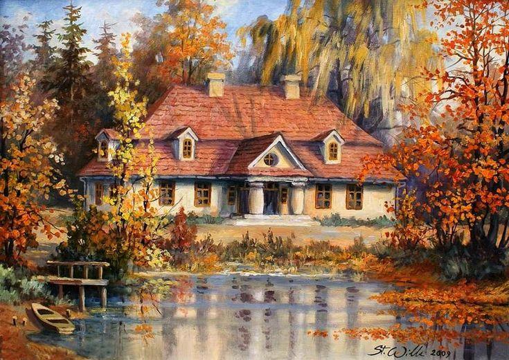 Stanisław Wilk - polski malarz krajobrazu