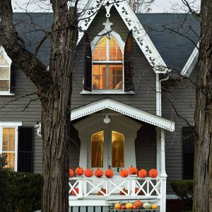 Halloween Decorating Yard