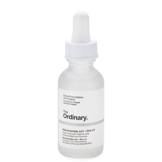 What It Is Niacinamide 10% + Zinc 1% is a water-based serum with niacinamide (vitamin B3) and zinc. What It Does This treatment reduces the appearance of blemishes, redness, enlarged pores, uneven tone, and oily skin. It promotes clearer, brighter, and smoother skin while balancing sebum production. Key Ingredients  Niacinamide: a vitamin that brightens and reduces the appearance of skin blemishes and congestion Zinc PCA: a mineral th...
