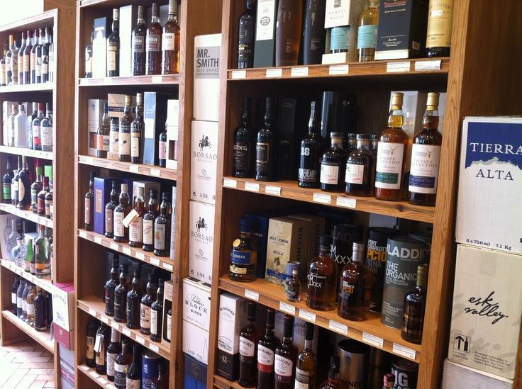 Whisky shop in Bridge of Allan