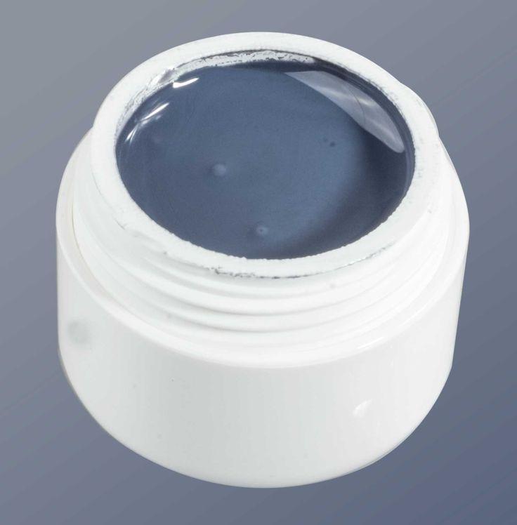 Colorgel blauw grijs. Goedkoopste gelproducten. https://www.goedkoopstenagelproducten.nl/gel-nagel-producten/colorgel/color-gel-classic