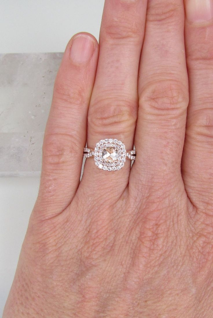 12 best Engagement Rings images on Pinterest   Engagements, Coloured ...