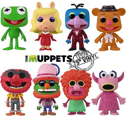 Os Muppets – Bonecos de Vinil Funko Pop!