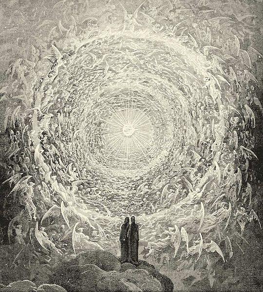 heavenly choirs. #dante