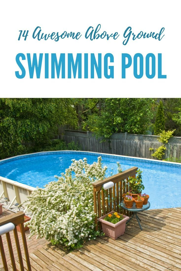 408 best swimming pool ideas images on pinterest - Nice above ground pools ...