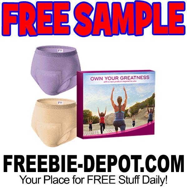 ►► FREE SAMPLE - Depend Underwear and Briefs for Women - FREE Depends Coupons ►► #Free, #FREESample, #FREEStuff, #Freebie, #Frugal, #FrugalFind, #FrugalLiving, #Sample ►►