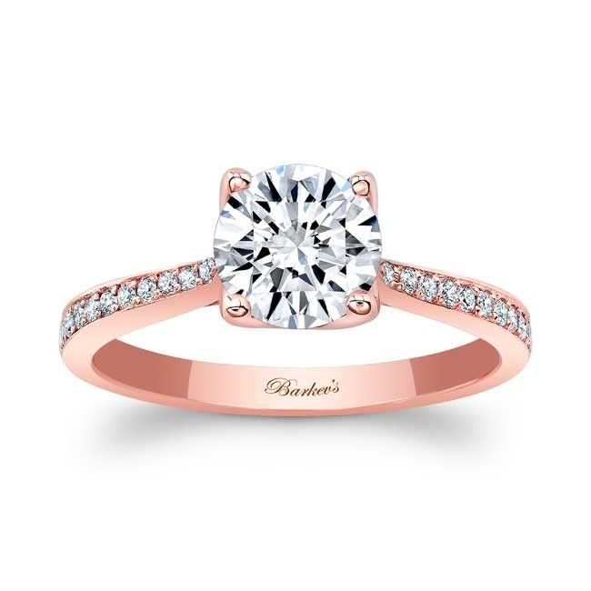 Barkev S Rose Gold Diamond Engagement Ring 8195lp Barkev S In 2020 Rose Gold Diamond Ring Engagement Moissanite Engagement Ring Rose Gold Rose Gold Engagement Ring